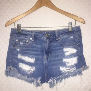 "American Eagle ""TomGirl Shortie"" Jeans Shorts"